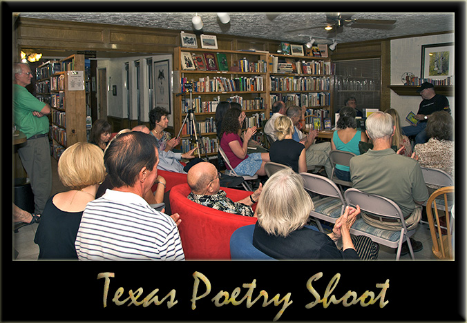 Texas Poetry Shoot-out Framed blog