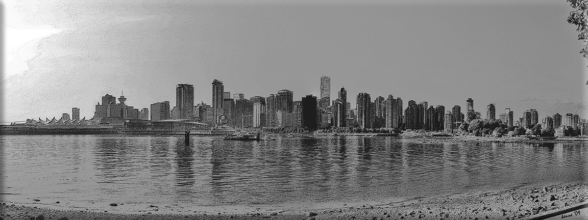 Vancouver from Stanley Park blog