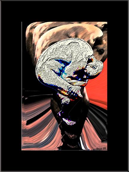 Man in Women framed I blog