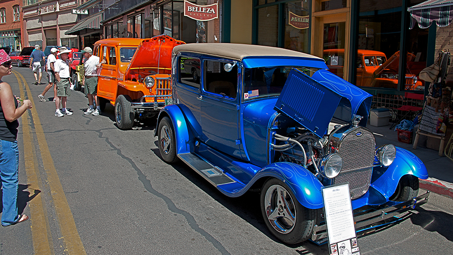 Tombstone Bisbee May Becoming Is Superior To Being - Bisbee car show