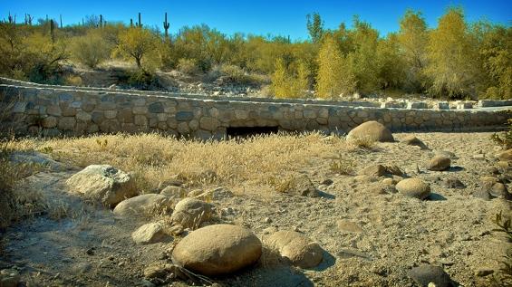 Sabino Creek at Bridge On Bear Canyon Road