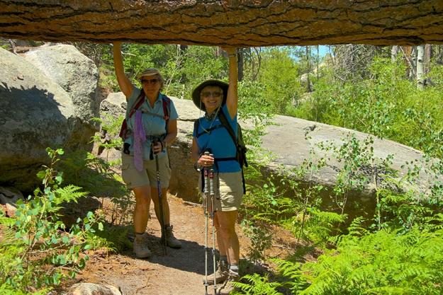 Aspen Loop To Wilderness Rocks