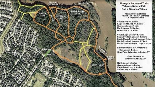 East End Park Trails blog