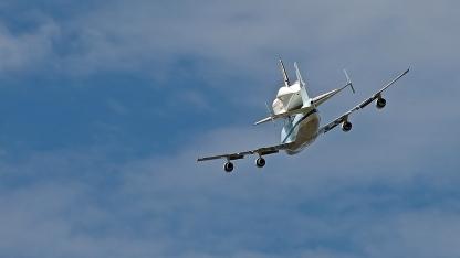 Endeavor Tucson Flyover