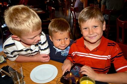 Brunch: Nicholas, James & Chase