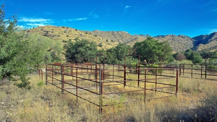 Horse Corrals at the Prison Camp