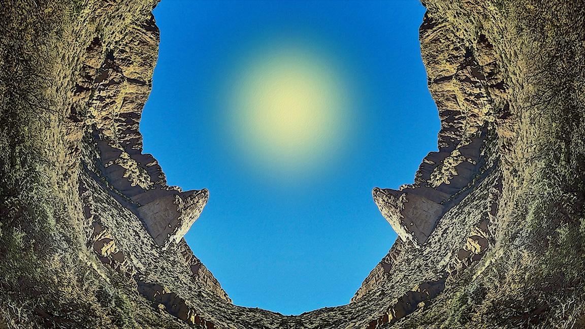 Doubtful Canyon Circle art blog