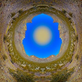 Doubtful Canyon Fisheye Art blog