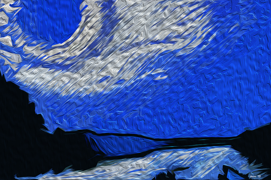 RiverBlueMoon7.4 IV Painting blog