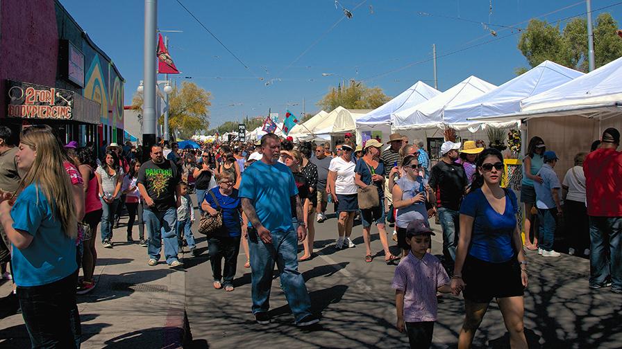 4th Avenue Street Fair Spring 2013
