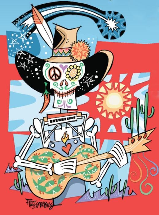 Tucson Folk Festival 2013 Fitzsimmons Art