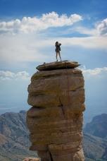 Rock Climbing Mt Lemon