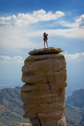 Rock Climbing Mt Lemon