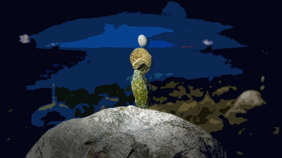 Seattle Lummi Island & Vancouver_Stacked Rocks_0150 II art II blog