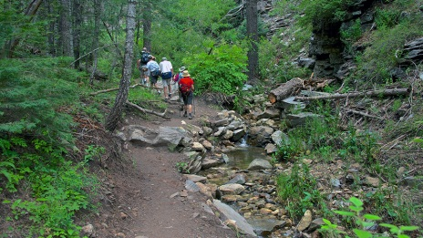 Aspen Loop, hiking, Mt. Lemmon