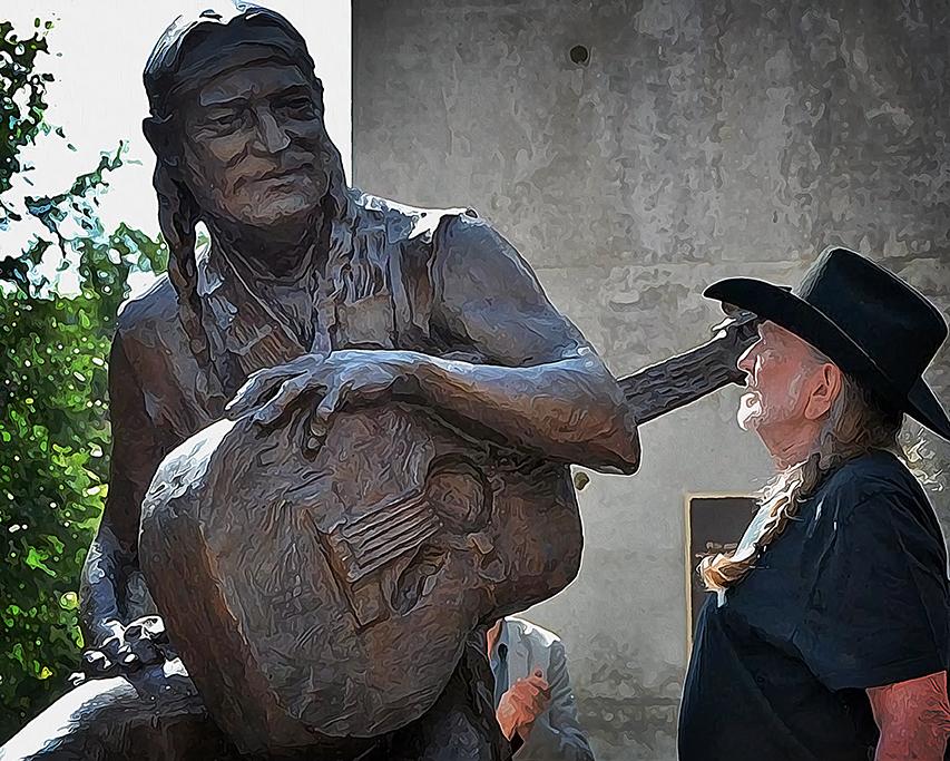 Willie Nelson art blog