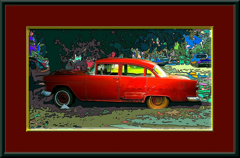 Soul of a Car blog frame