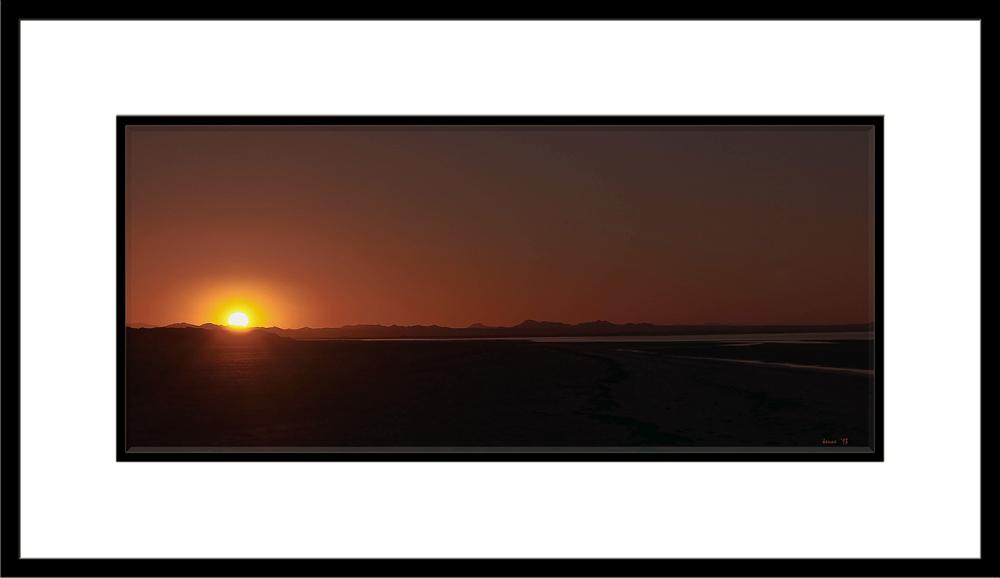 Puerto Penasco September 2013-0005 Sunset framed blog