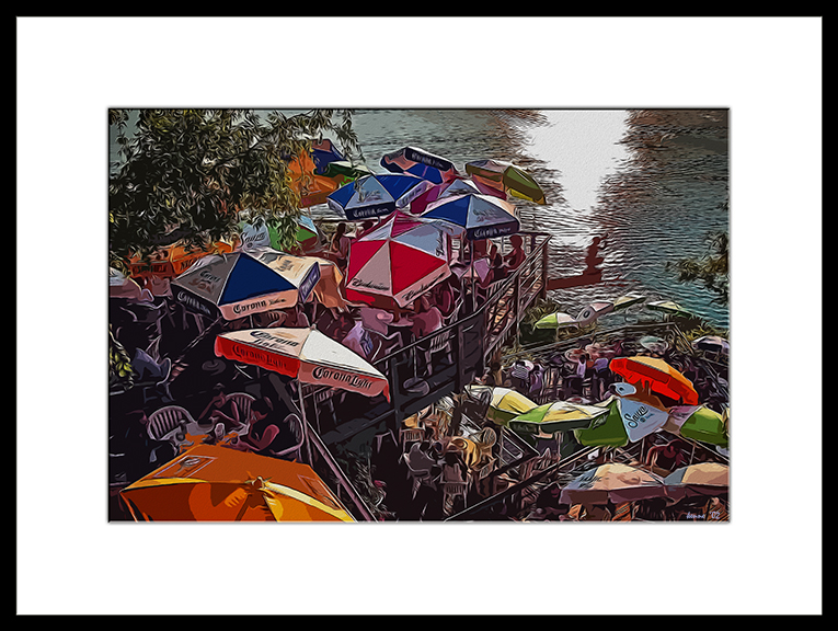 Oasis- art II framed blog