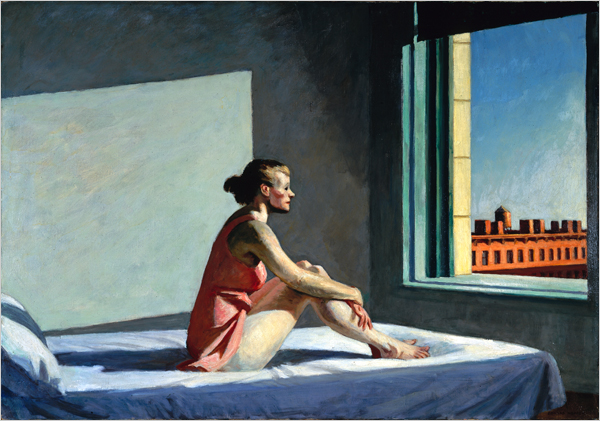"""Morning Sun"" Painting by Edward Hopper"
