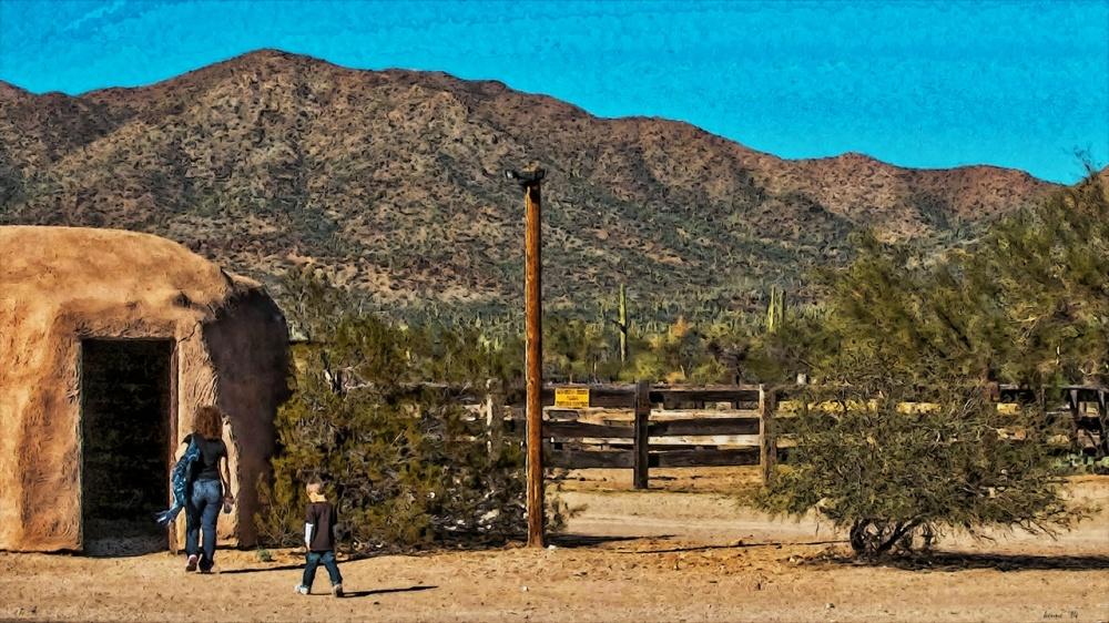 Old Tucson-9379-2 mother & son art_edit blog