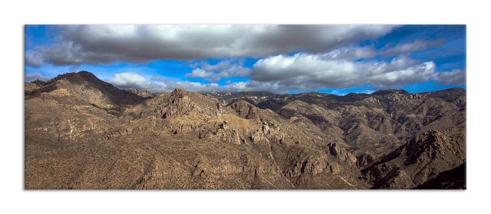Blackett's Ridge-9897 Sky Over Catalinas blog framed