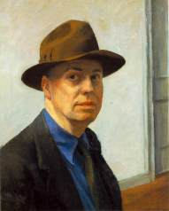 Edward Hopper, Self-portrait