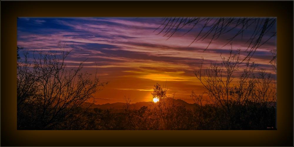 Ned's Nature Walk 02-12-14-9982 sunset blog framed