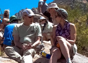 George Schott (co-leader) & Linda Moraski (leader)