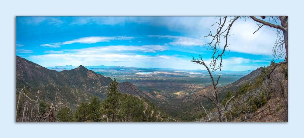 Madera Canyon Panorama April 11, 2014 blog framed