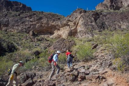 Ken, Virginia & Jim On The Hunter Trail