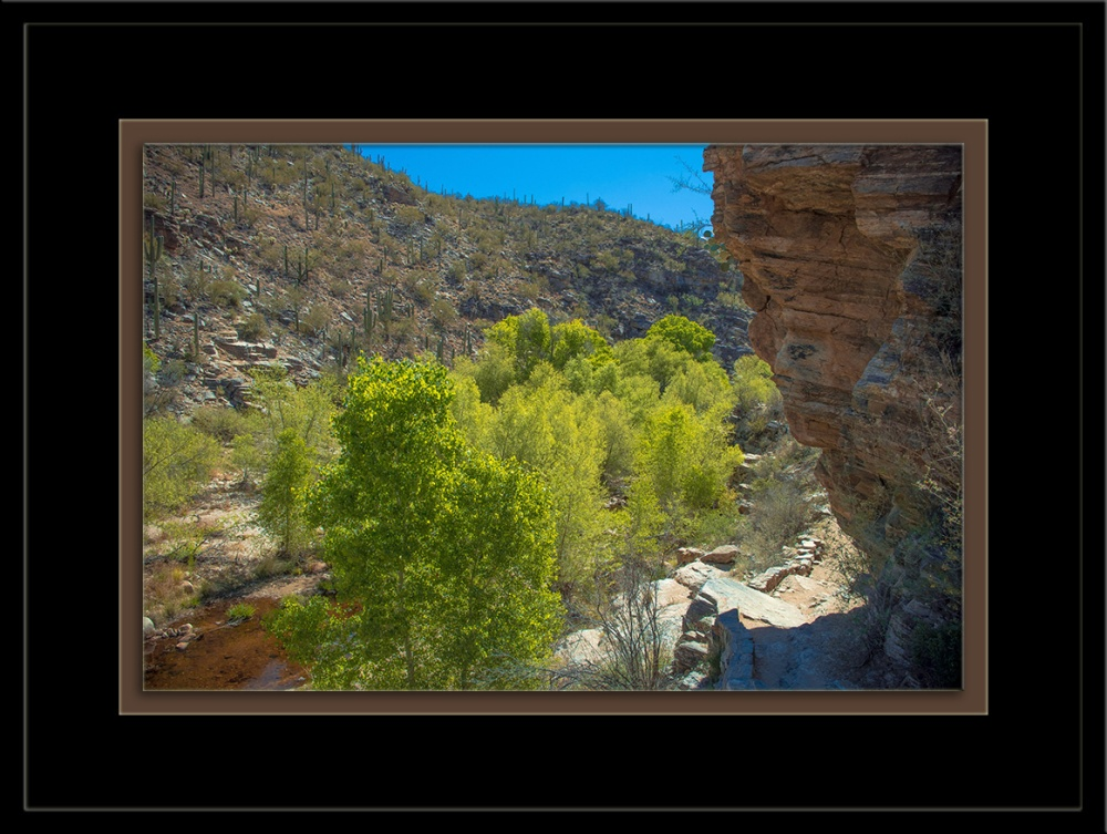 Sabino Creek Alone Bluff Trail (1 of 1)-2 blog framed