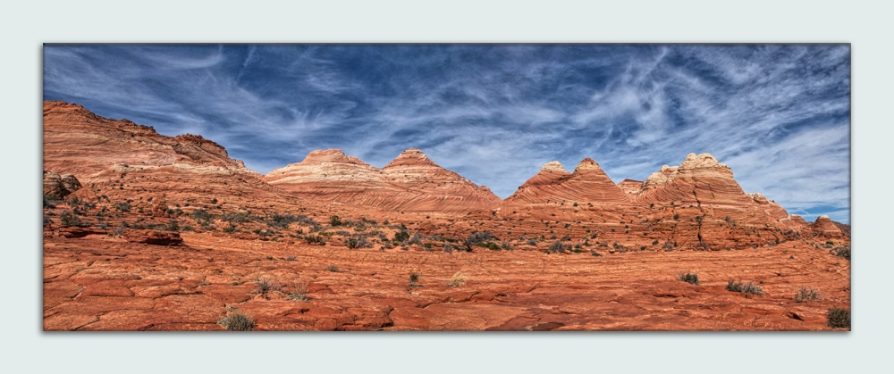 Vermillion Cliffs National Monument_Panorama1 blog framed