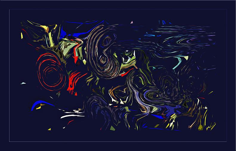 Sunset Obsract_20120217_1698 framed blog