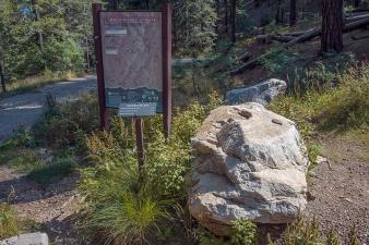 Butterfly Trail, Trailhead