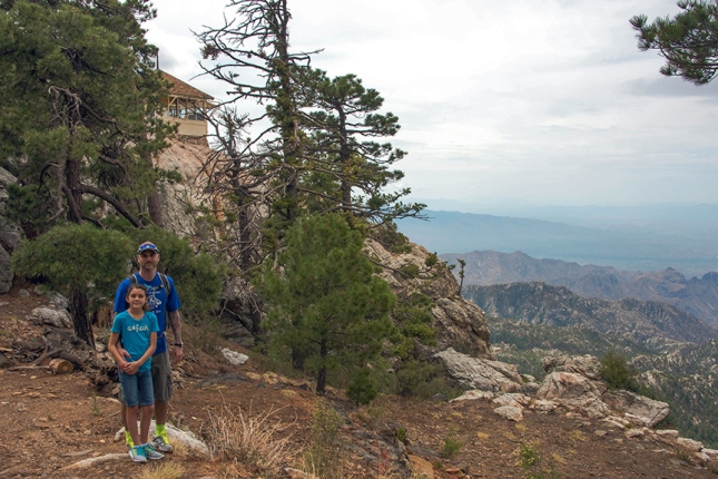 Hiking the Mt. Lemmon Trail Near the Lemmon Rock Lookout