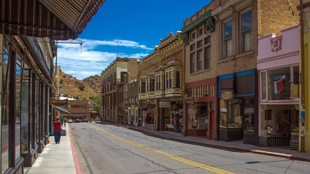 Bisbee Main Street, July 23, 2014