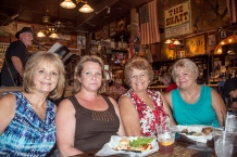 Jeri, Jana, Jody and Joy at Big Nose Kate's Saloon