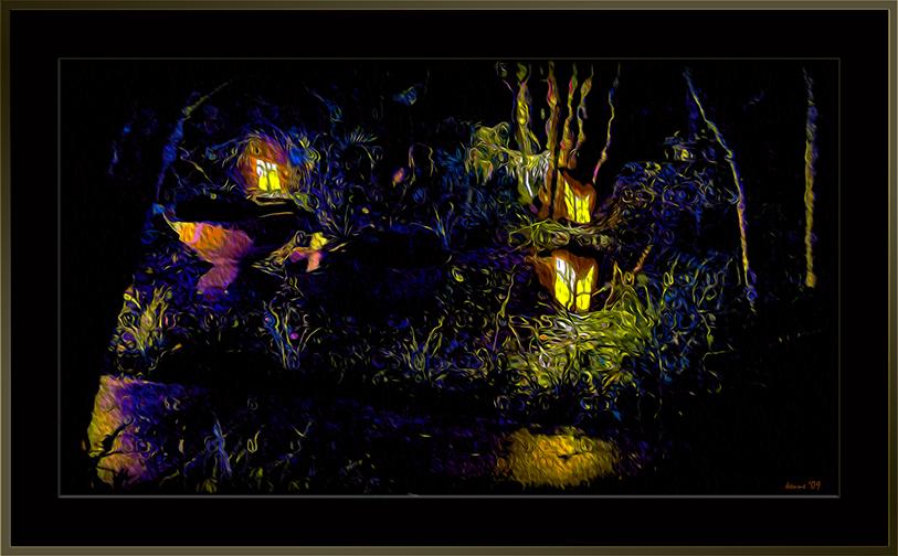 Fountain @ Night