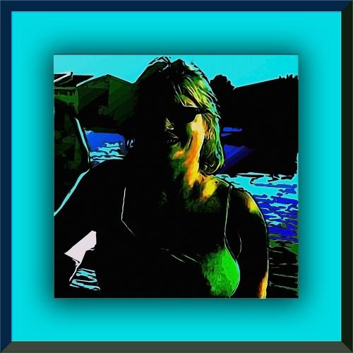 Joy @ the Lake framed