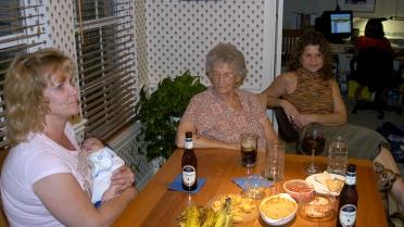 Jana, Chase, Great-grandma & Jill