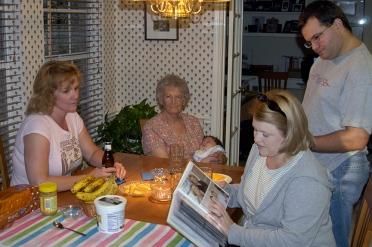 Jana, Great-grandma Virginia, Chase, Jodie & Justin