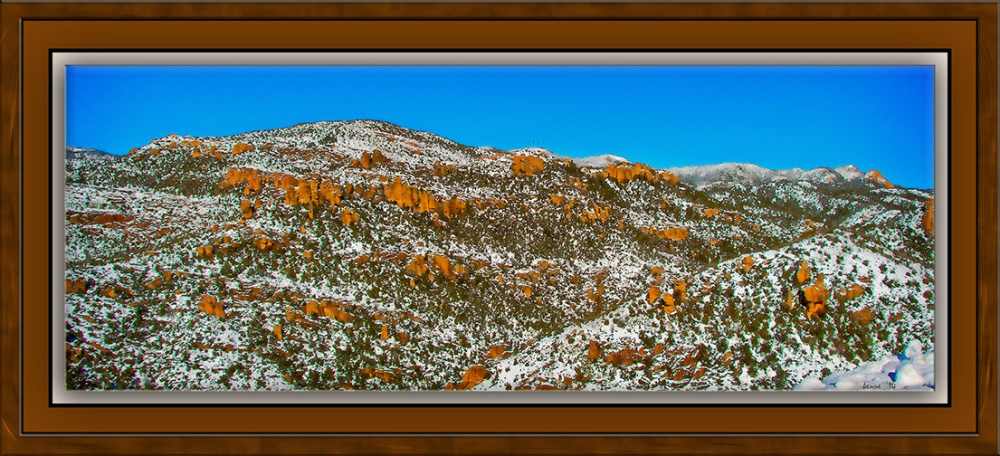 Snow On The Catalinas (1 of 1) art blog