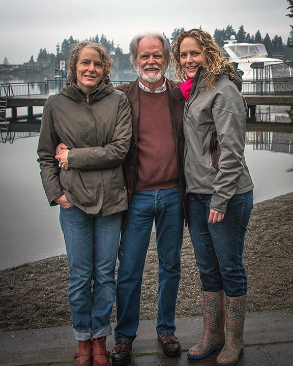 Vanessa, Kenne and Lisa