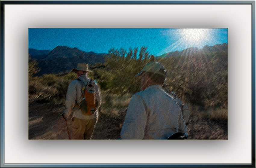 Sunrise On The trail (1 of 1) art III blog
