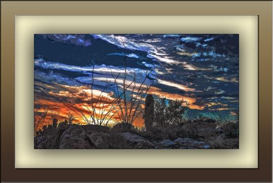 Rocky Sunset (1 of 1) art blog