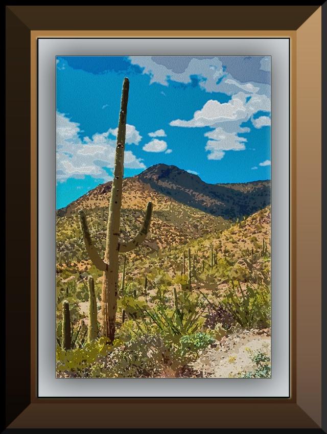 Saguaro Along the Trail (1 of 1) Painting II blog