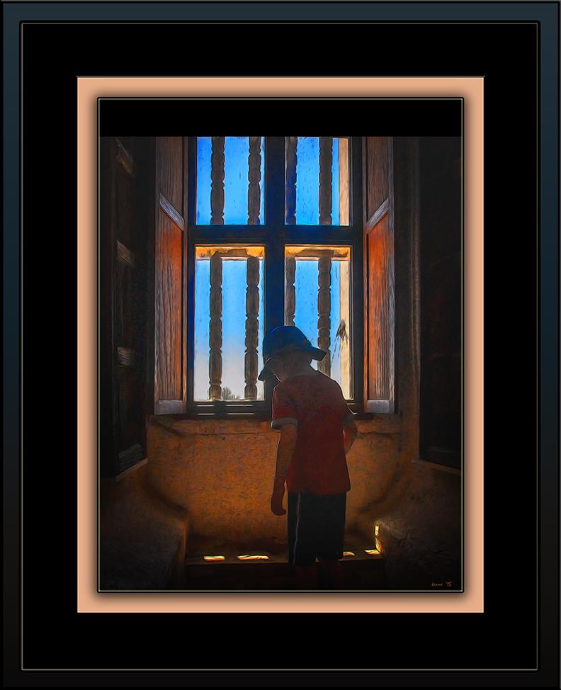 Boy In Window (1 of 1) art_edit blog