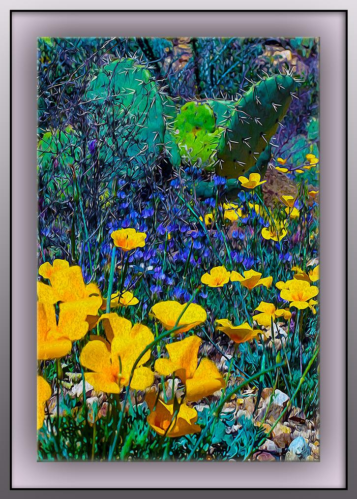 Spring Wildflowers Art (1 of 1)-2 blog II
