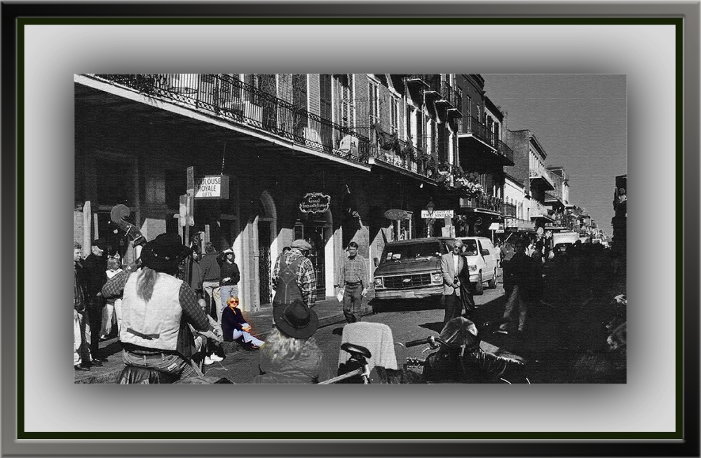 New Orleans 1 Street Music Color Me on Royale blog